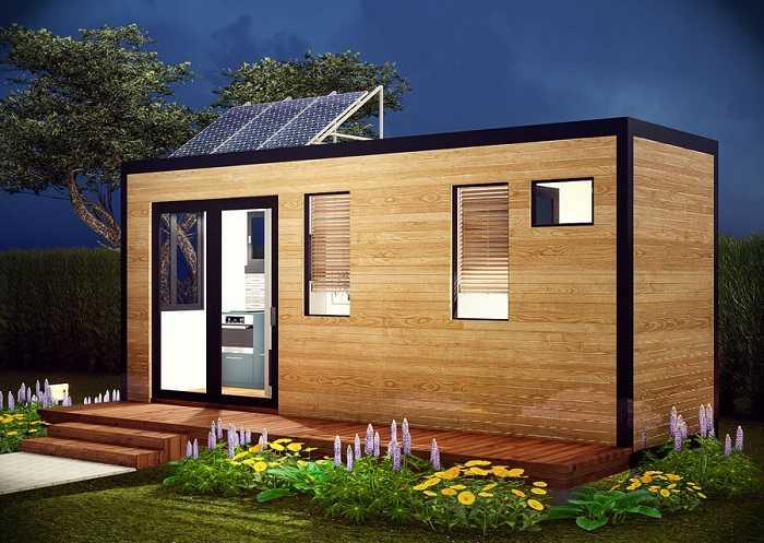maison container simple et écologique