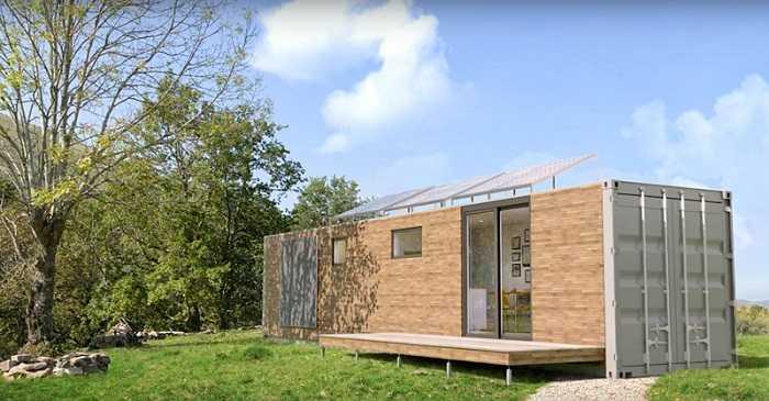 maison de jardin en bois habitable de 20m2