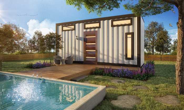 petite mini-maison container